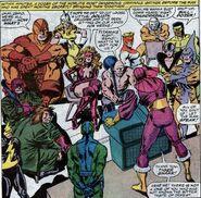 Baron Zemo's (Helmut Zemo) Masters of Evil (Avengers -273)