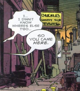 Chuckles (Location) from Punisher and Batman Deadly Knights Vol 1 1 001.jpg