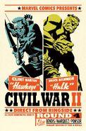 Civil War II Vol 1 4 Cho Variant Textless