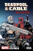 Deadpool & Cable Split Second Infinite Comic Vol 1 4