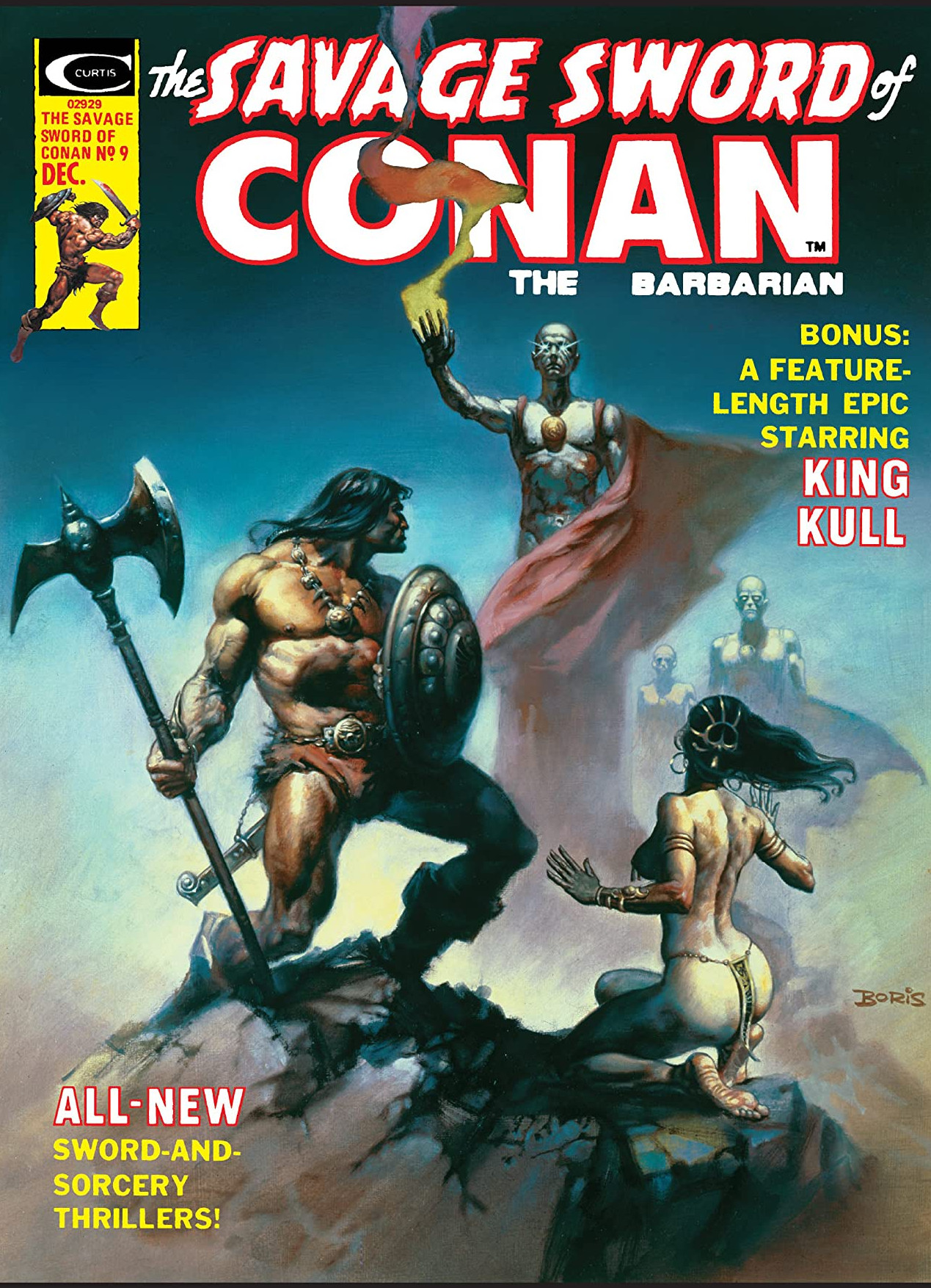 Savage Sword of Conan Vol 1 9