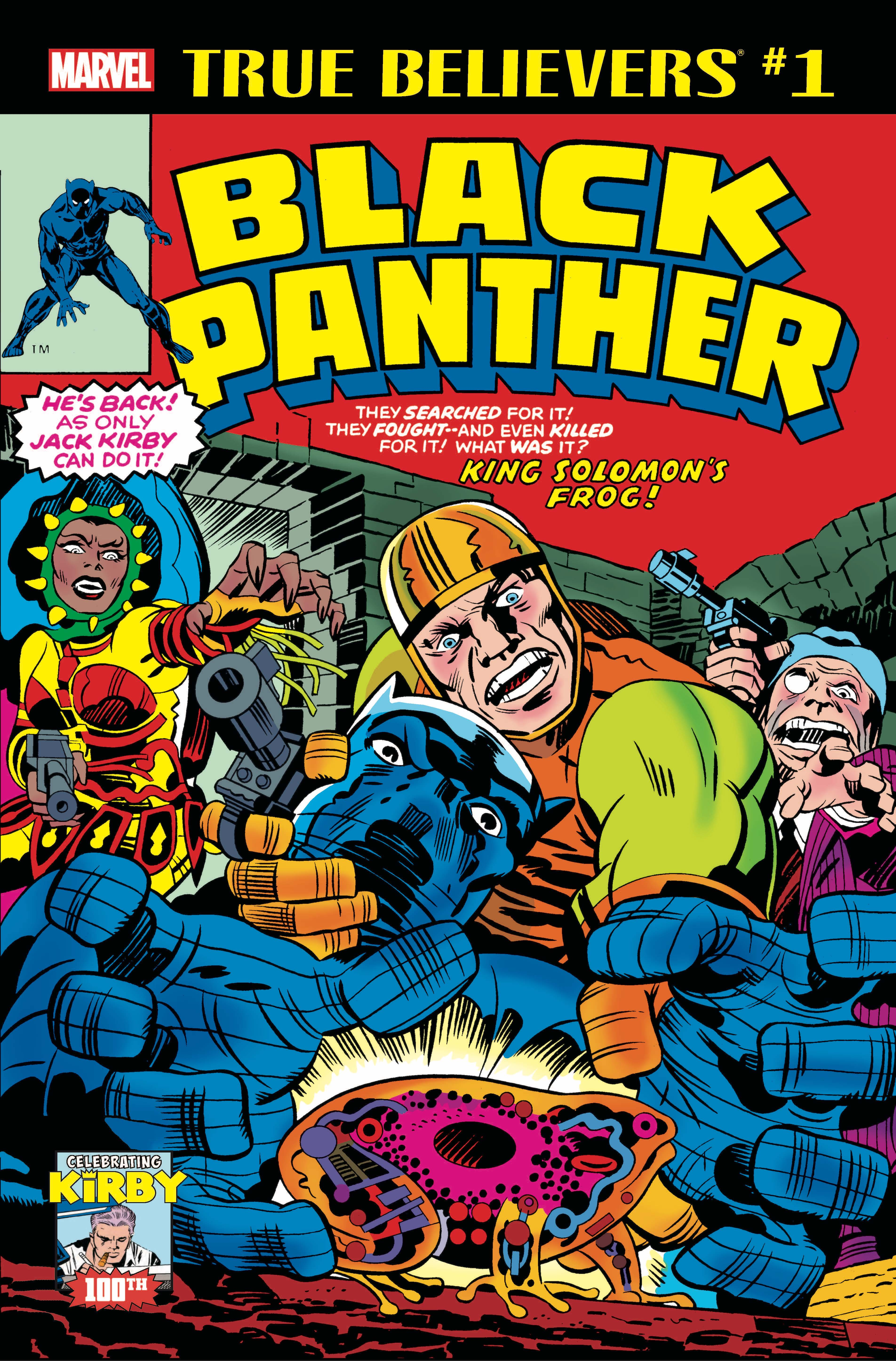 True Believers: Kirby 100th - Black Panther Vol 1