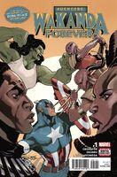 Wakanda Forever Avengers Vol 1 1