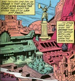 Atlantis (Kamuu) from Saga of the Sub-Mariner Vol 1 1 001.JPG