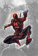 Deadpool Vol 8 1 Scorpion Comics And DGC Comics Exclusive Virgin Variant
