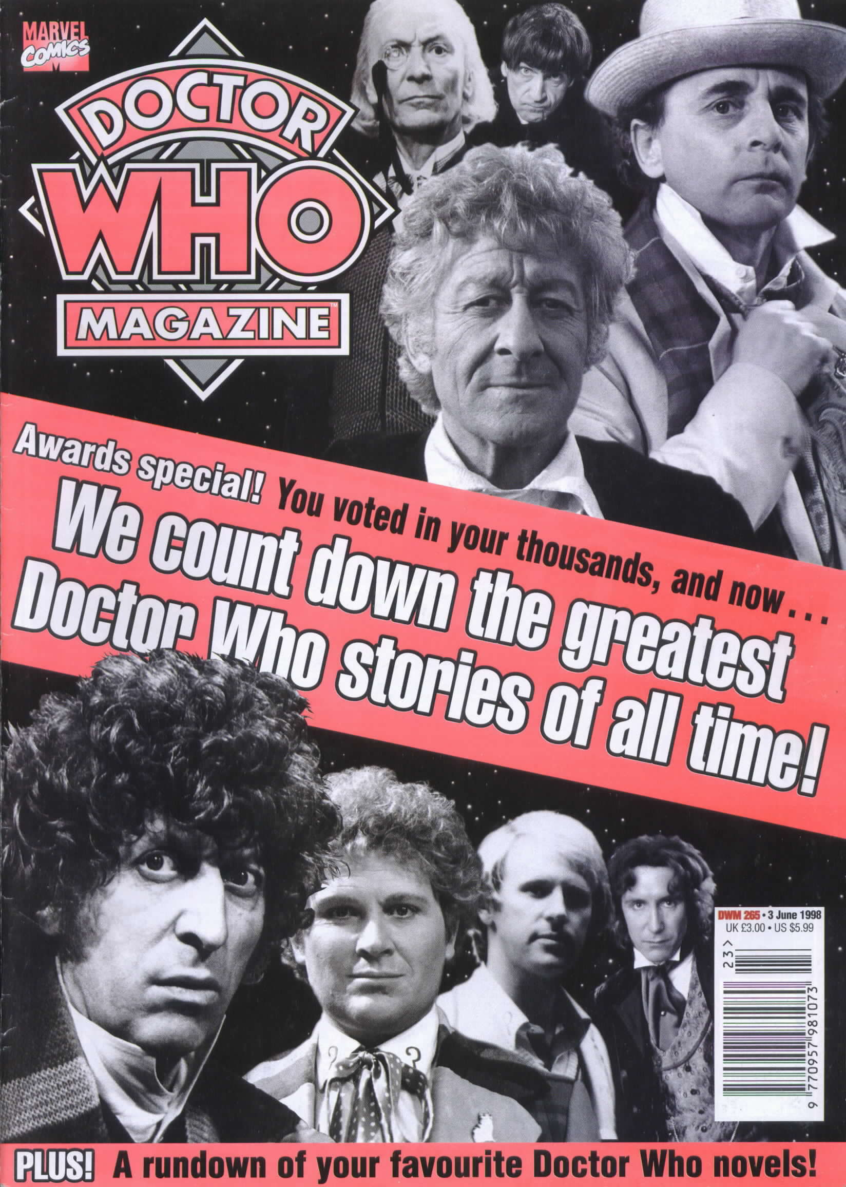 Doctor Who Magazine Vol 1 265