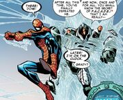 FACADE and Peter Parker (Earth-616) from Amazing Spider-Man Vol 1 678 0001.jpg