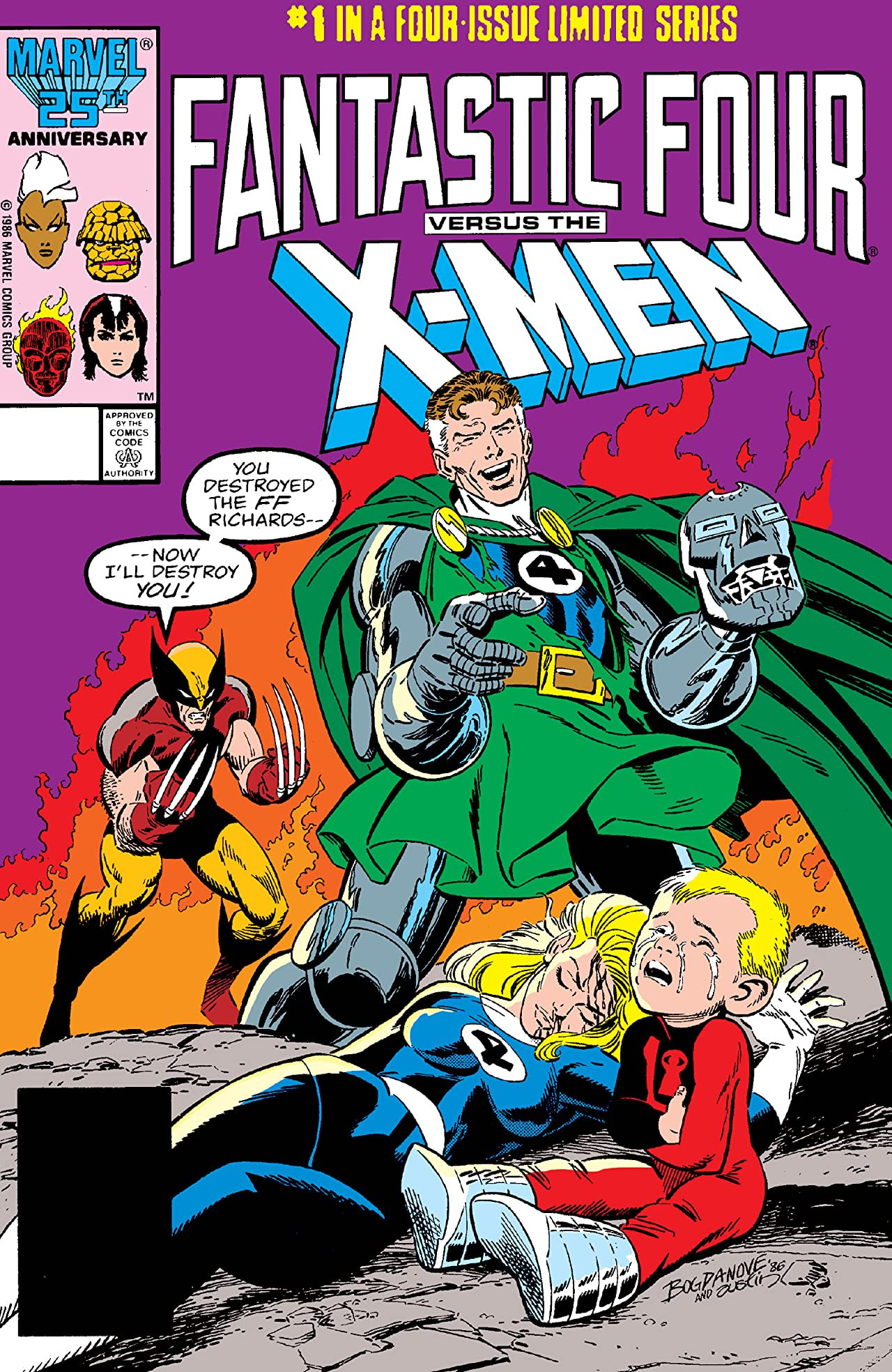 Fantastic Four vs. the X-Men Vol 1 1.jpg