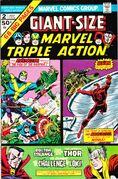 Giant-Size Marvel Triple Action Vol 1 2