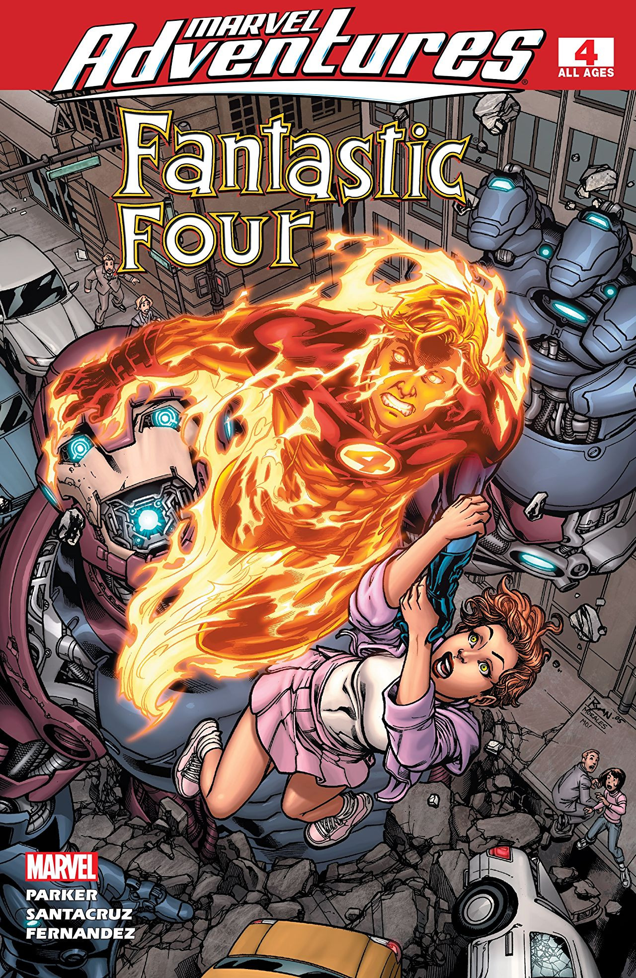 Marvel Adventures: Fantastic Four Vol 1 4