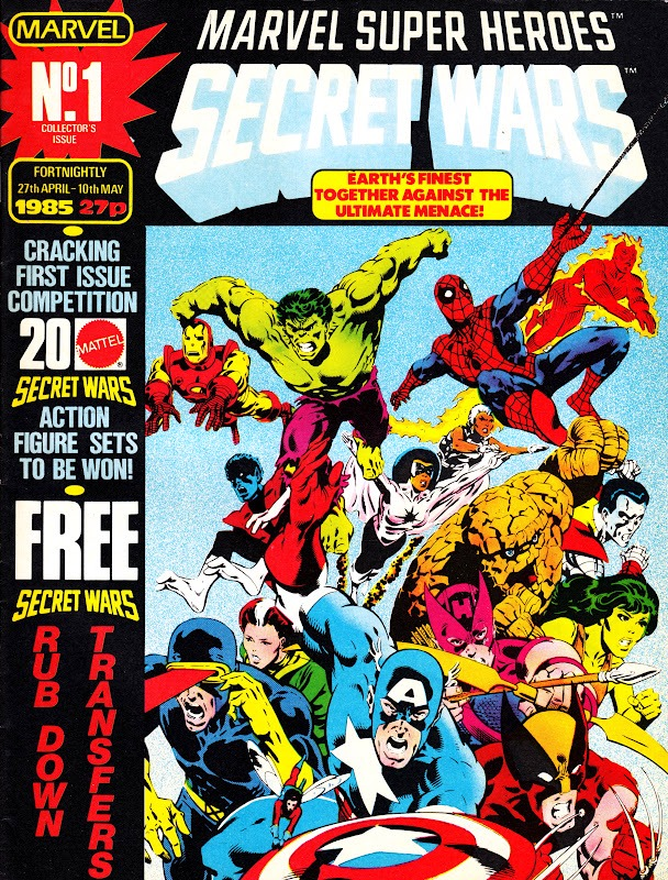 Marvel Super Heroes Secret Wars (UK) Vol 1 1.jpg