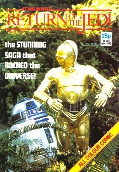 Return of the Jedi Weekly (UK) Vol 1 2