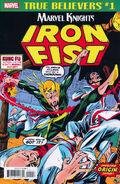 True Believers Marvel Knights 20th Anniversary - Iron Fist by Thomas & Kane Vol 1 1