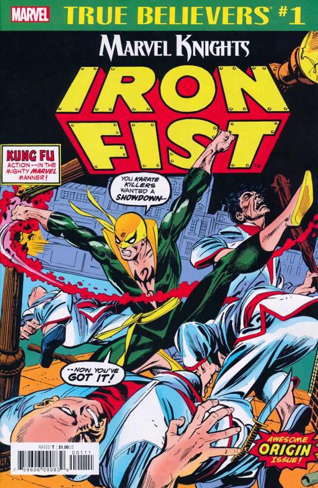 True Believers: Marvel Knights 20th Anniversary - Iron Fist by Thomas & Kane Vol 1