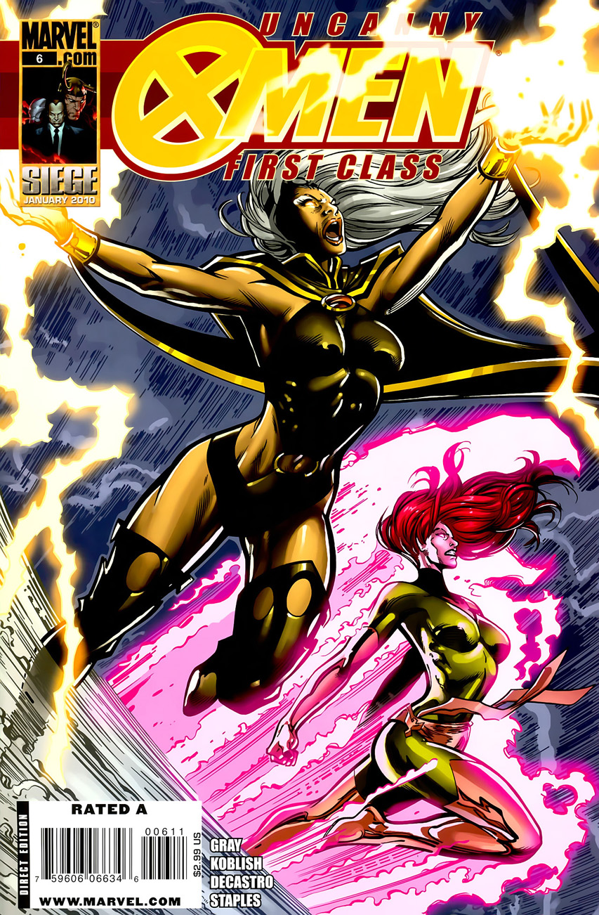 Uncanny X-Men: First Class Vol 1 6
