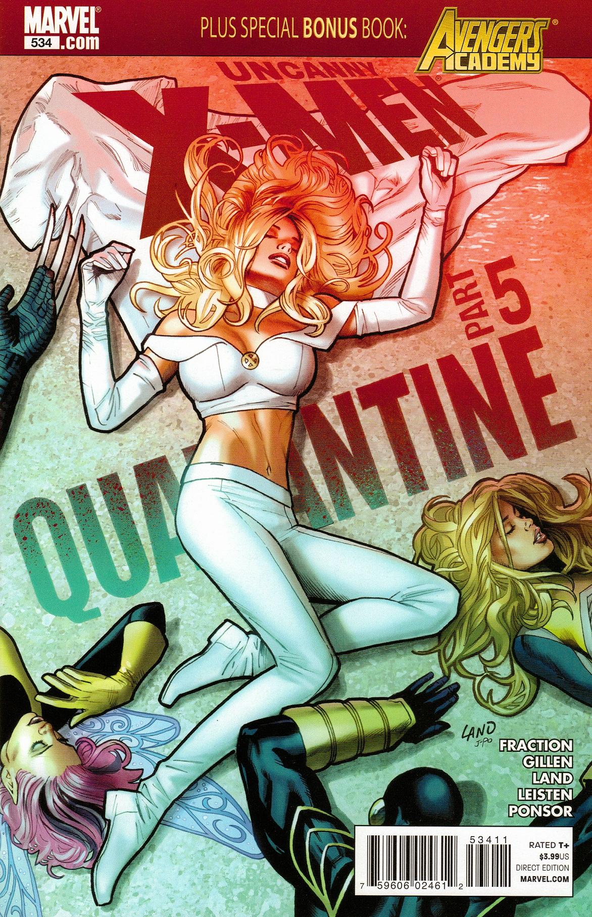Uncanny X-Men Vol 1 534
