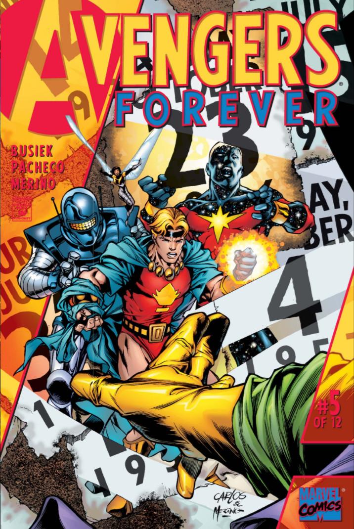 Avengers: Forever Vol 1 5