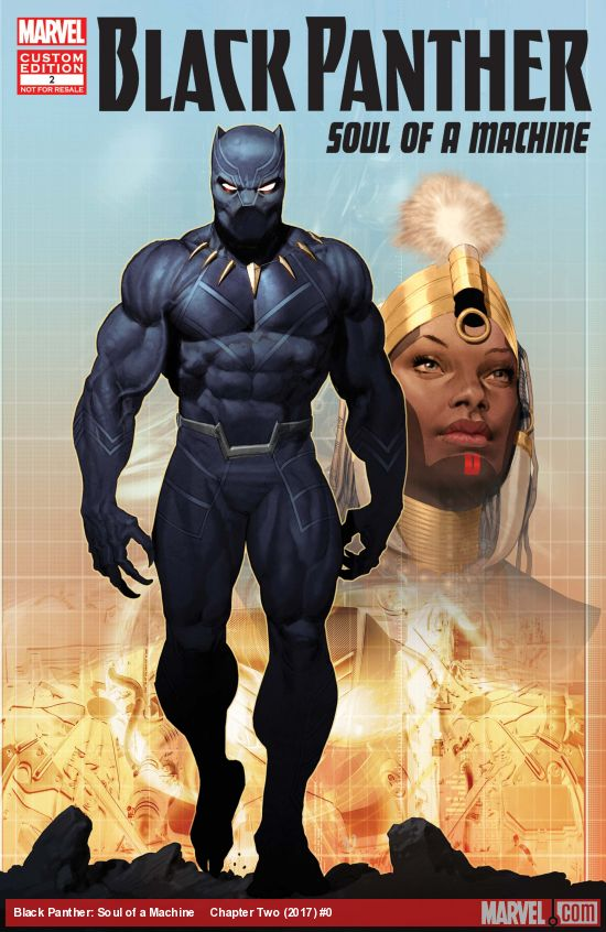 Black Panther: Soul of a Machine Vol 1 2