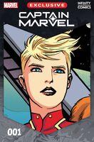 Captain Marvel Infinity Comic Vol 1 1
