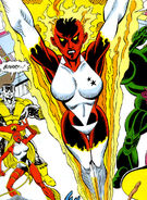 Carol Danvers (Earth-616) from X-Men Spotlight on...Starjammers Vol 1 2 0001