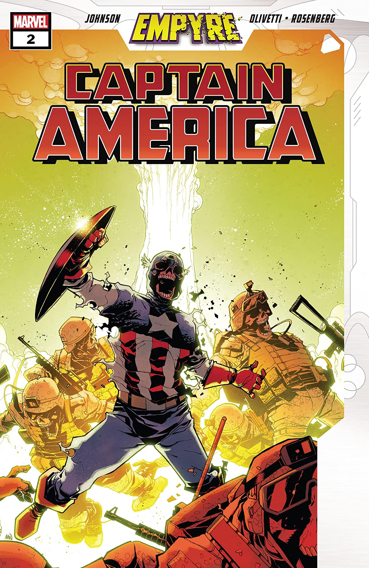 Empyre: Captain America Vol 1 2