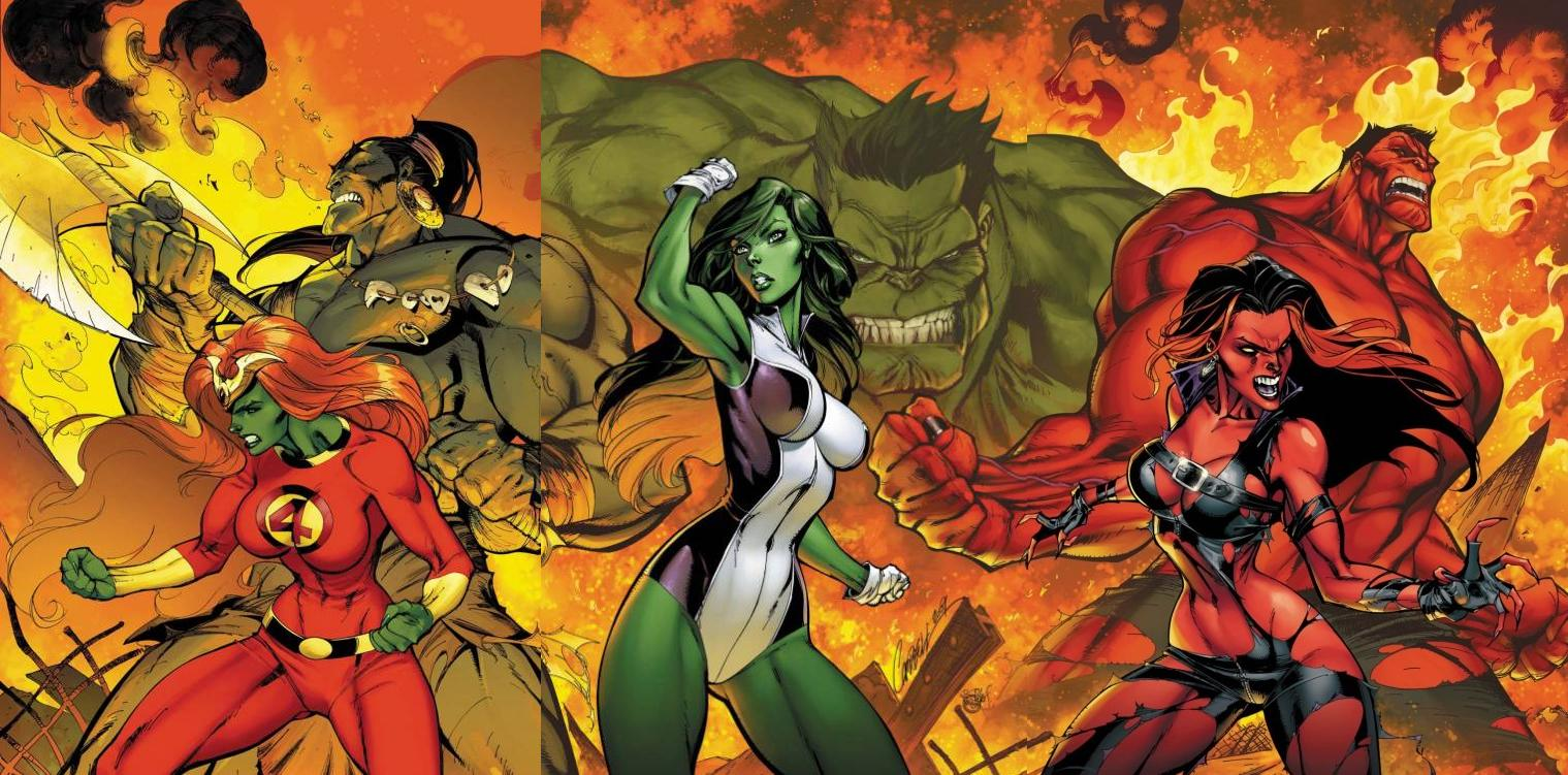 Incredible Hulks (Earth-616)/Gallery
