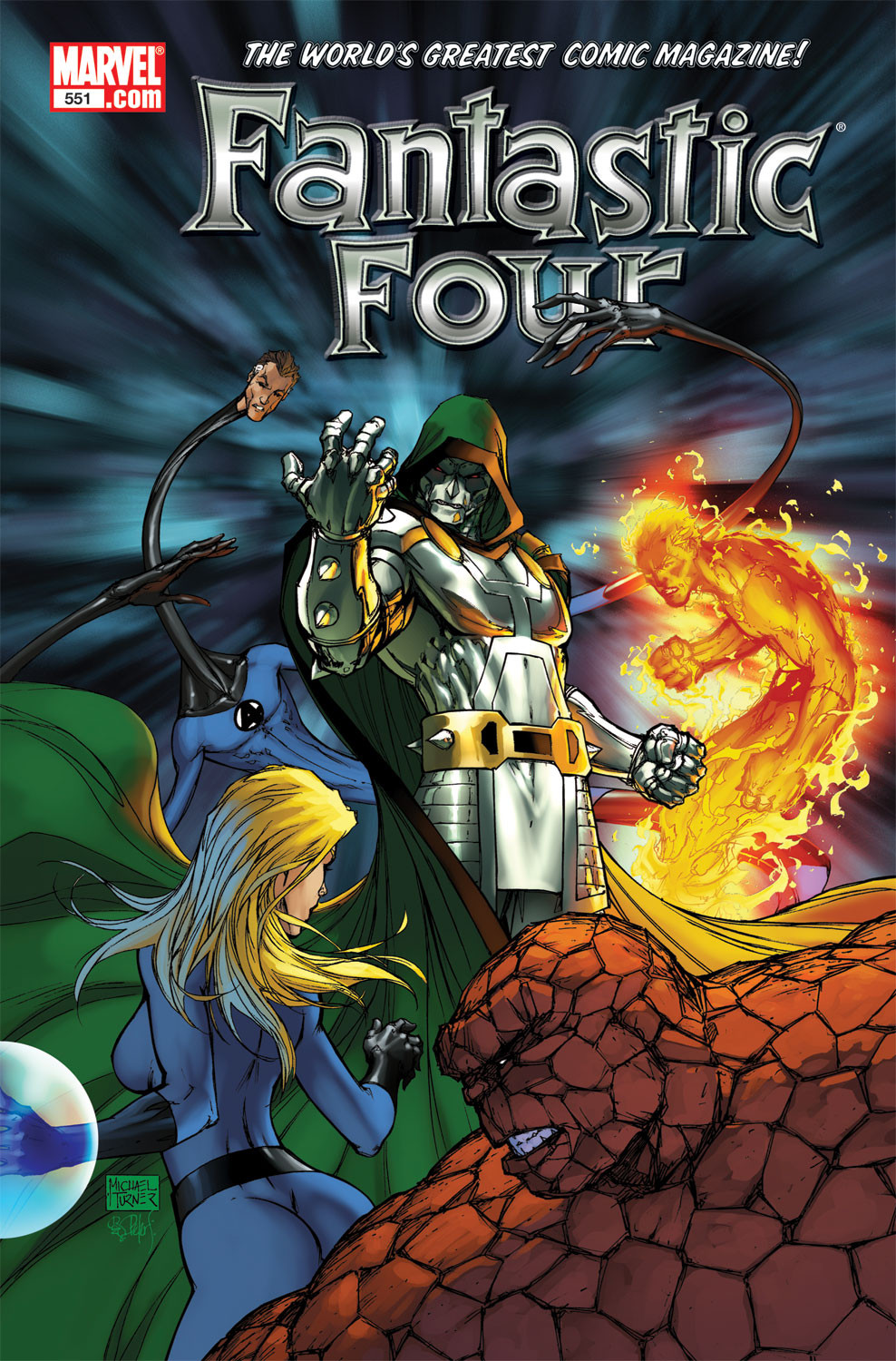 Fantastic Four Vol 1 551