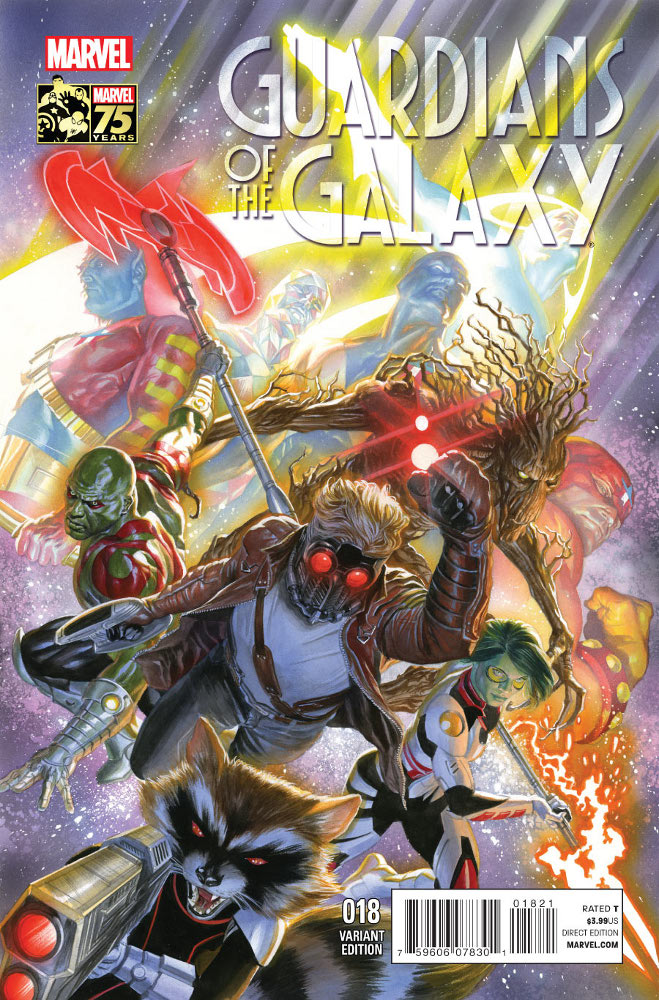 Guardians of the Galaxy Vol 3 18 Marvel Comics 75th Anniversary Variant.jpg