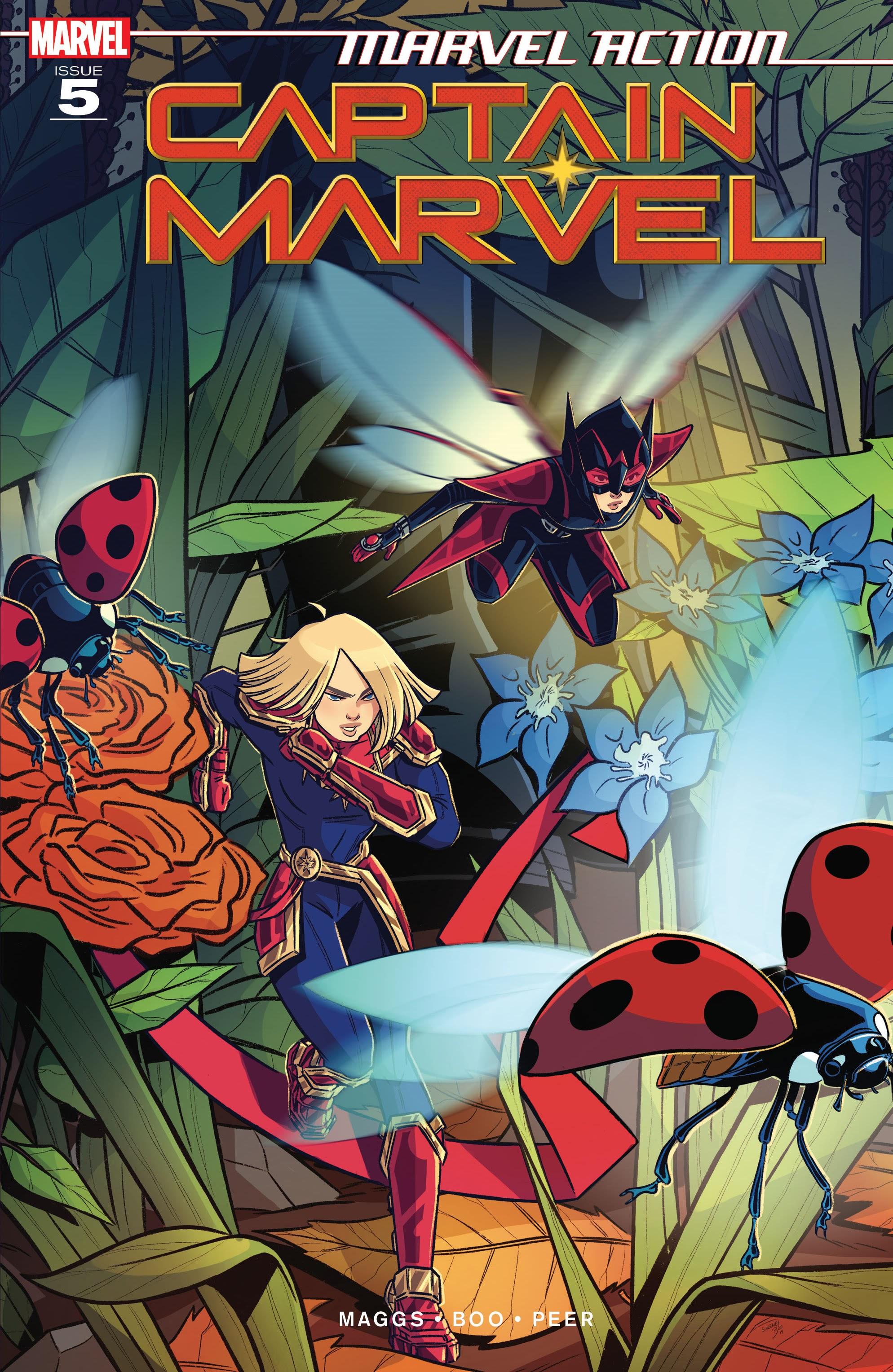 Marvel Action: Captain Marvel Vol 1 5