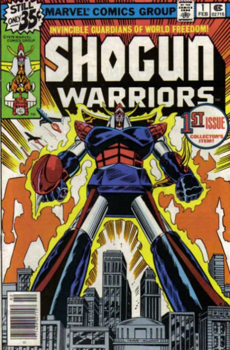 Shogun Warriors Vol 1 1