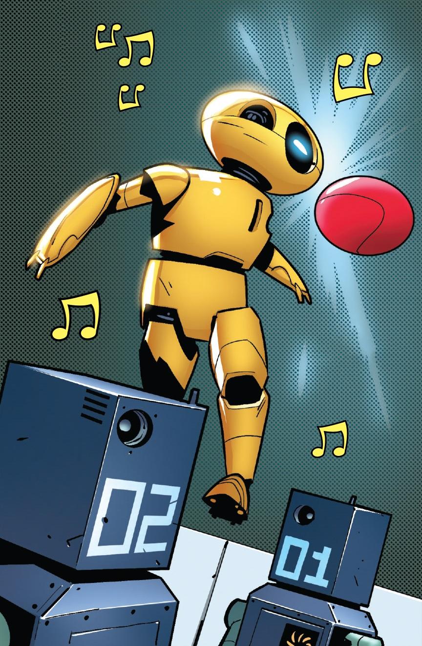 Stark Soccer Robot