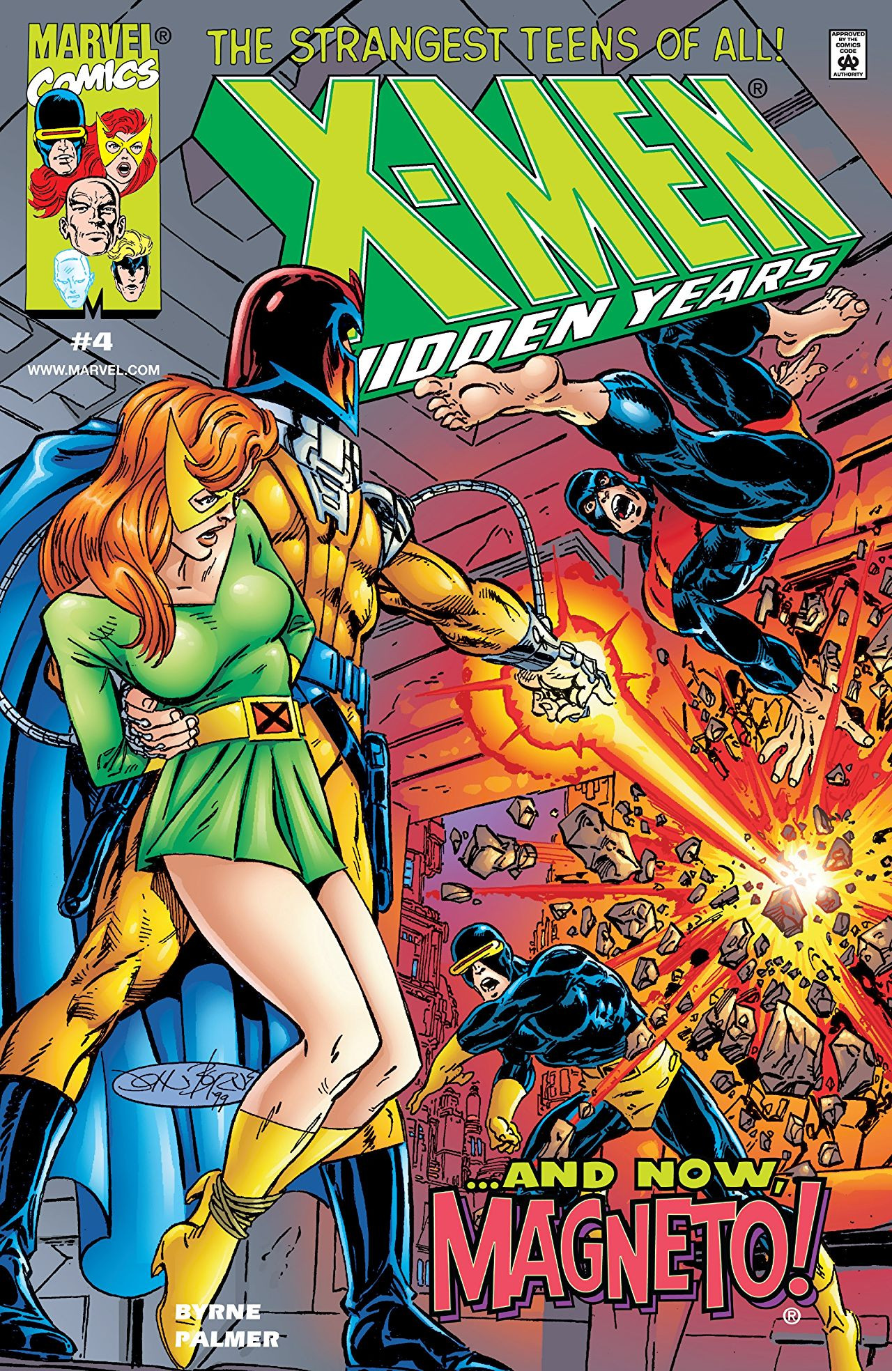 X-Men: The Hidden Years Vol 1 4