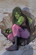 Civil War II Vol 1 1 She-Hulk Variant Textless