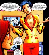 Hedy Wolfe (Earth-616) and Patricia Walker (Earth-616) from Hellcat Vol 1 1 001