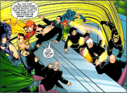 Squadron Supreme (Earth-712) and Global Directorate (Earth-712) from Exiles Vol 1 78 0001