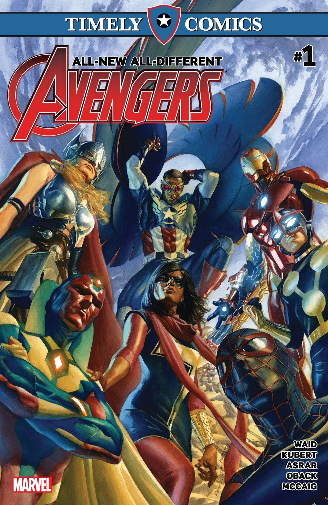 Timely Comics: All-New, All-Different Avengers Vol 1