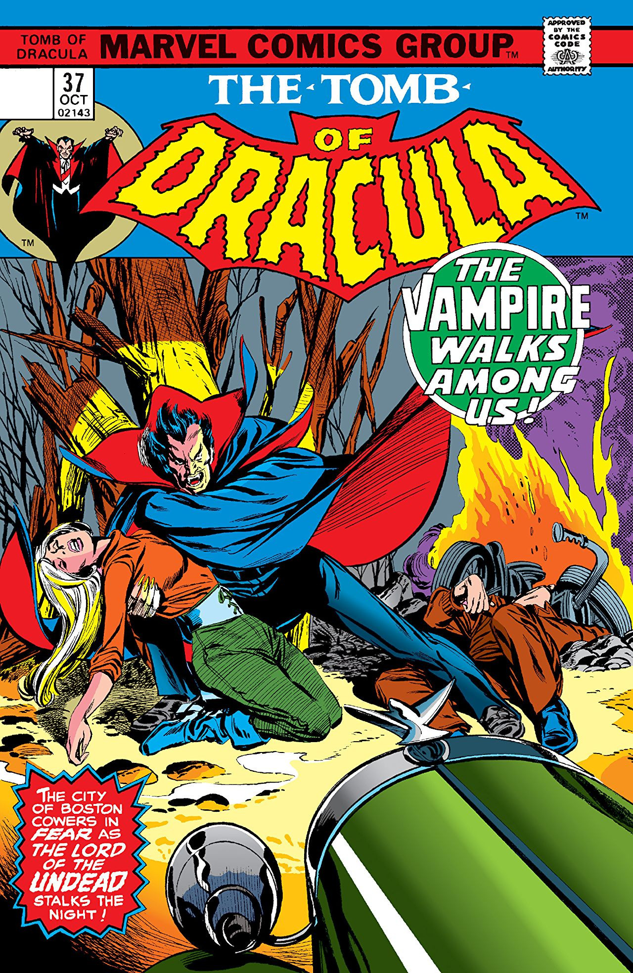 Tomb of Dracula Vol 1 37