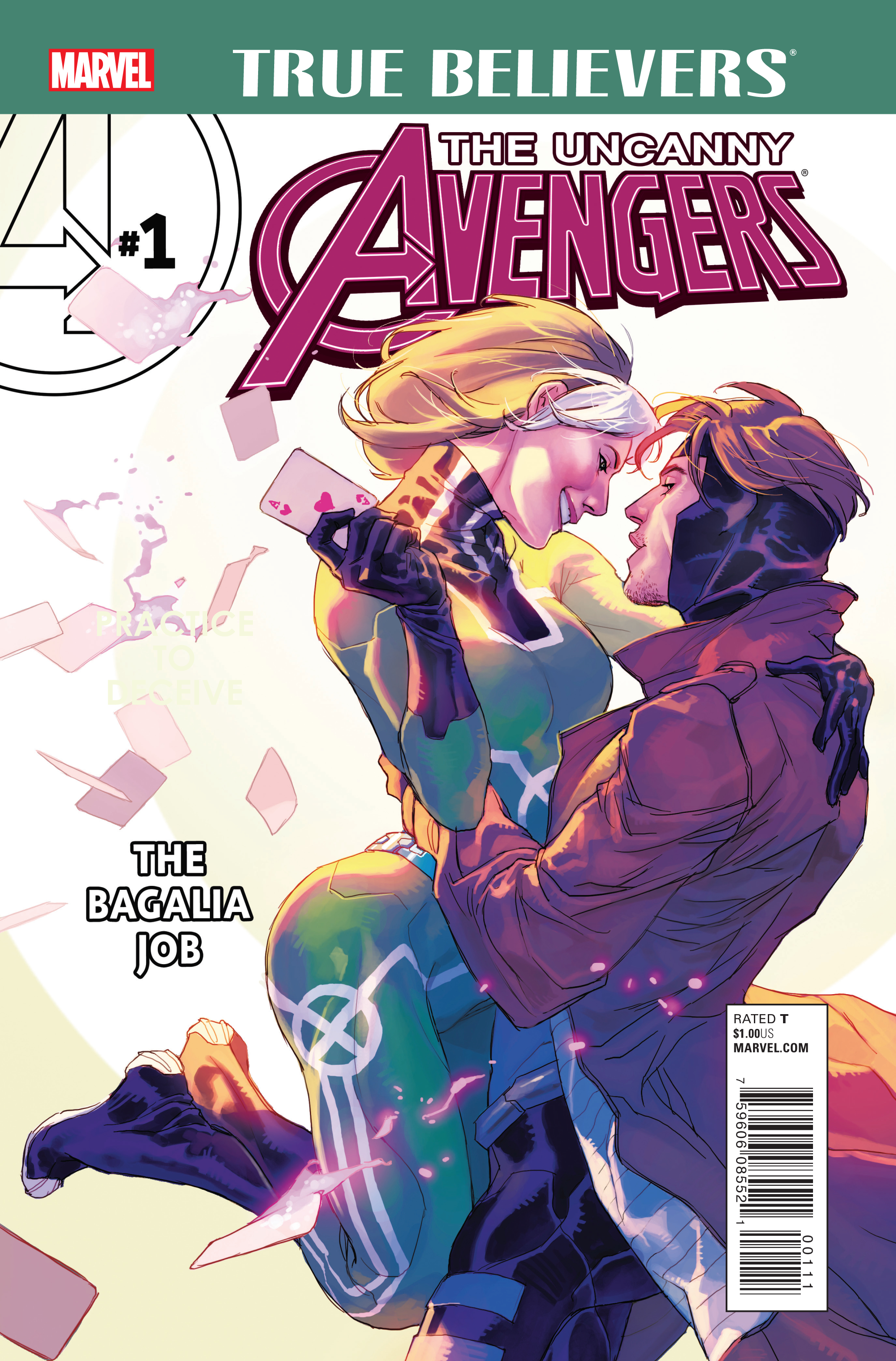 True Believers: Uncanny Avengers - The Bagalia Job Vol 1 1
