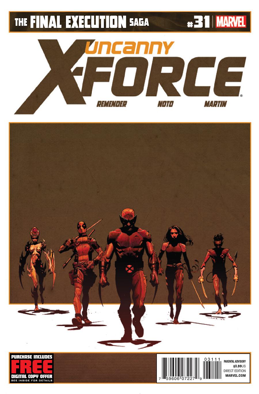 Uncanny X-Force Vol 1 31