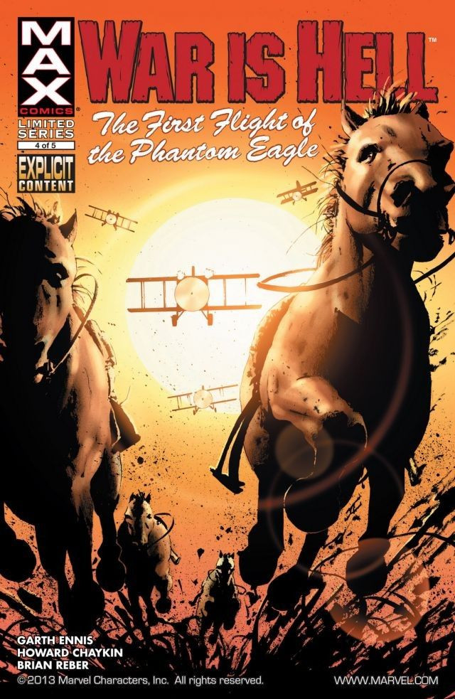 War Is Hell: The First Flight of the Phantom Eagle Vol 1 4