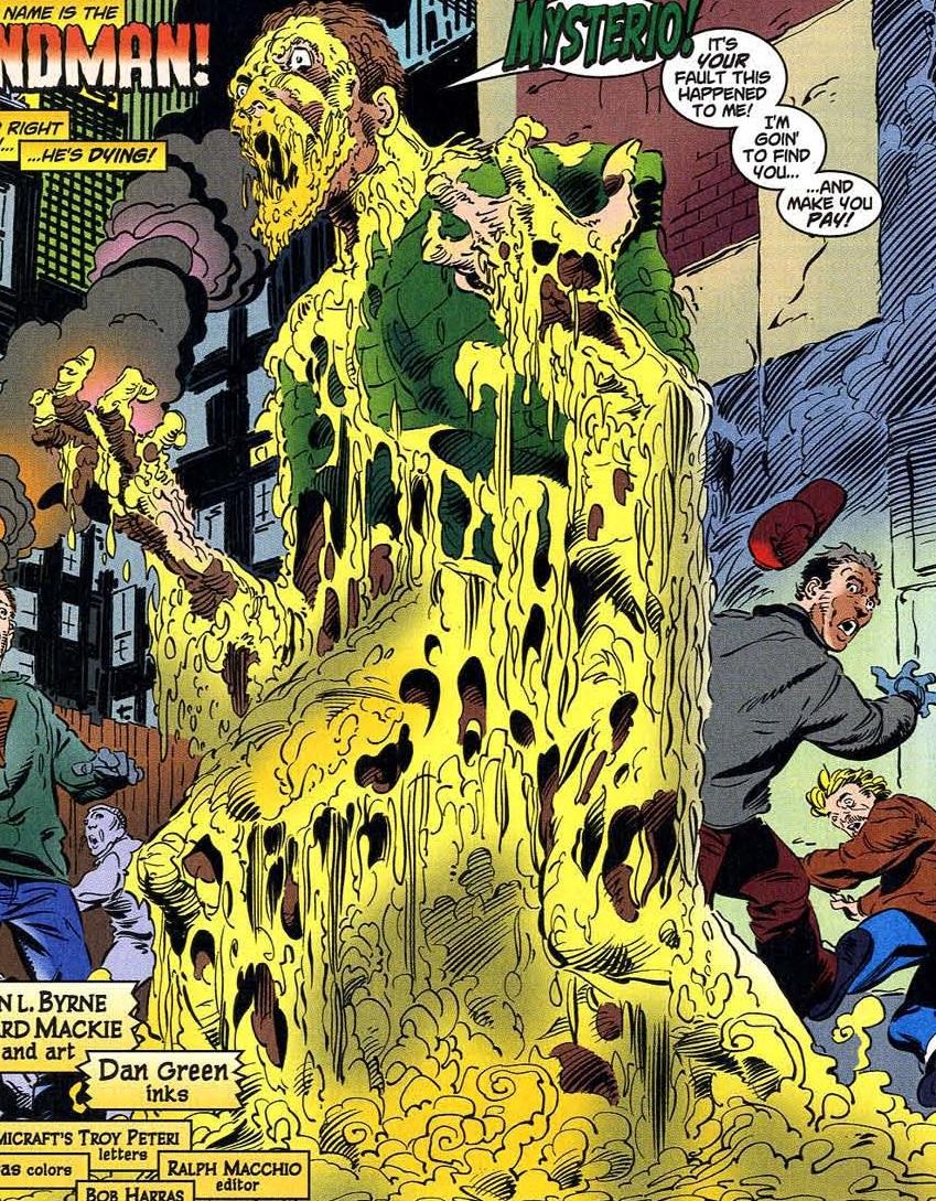 William Baker (Earth-616) disintigrating form from Amazing Spider-Man Vol 2 17.jpg