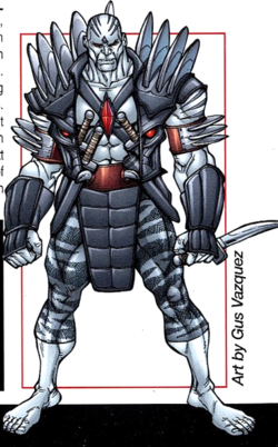 Xraven (Earth-616) from X-Men Earth's Mutant Heroes Vol 1 1.png