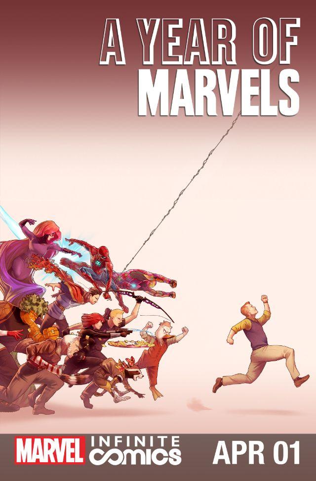 Year of Marvels: April Infinite Comic Vol 1 1
