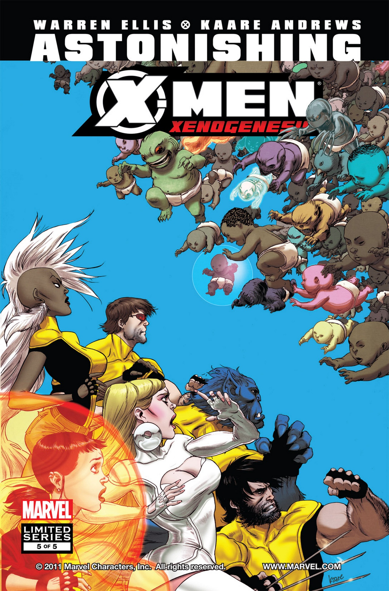 Astonishing X-Men: Xenogenesis Vol 1 5