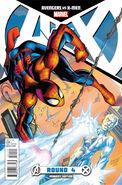 Avengers vs. X-Men Vol 1 4 Bagley Variant