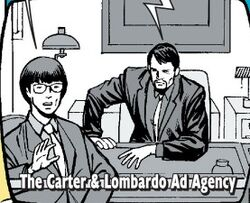 Carter & Lombardo Ad Agency (Earth-616) from Spider-Man Human Torch Vol 1 3 0001.jpg
