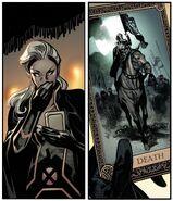 Death Tarot Card from X of Swords Stasis Vol 1 1 001