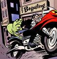 Doop (Earth-616) and James Howlett (Earth-616) from Wolverine Doop Vol 1 1 0001