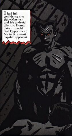 Experiment N2 (Earth-616) from Weapon X Vol 2 14 0001.jpg