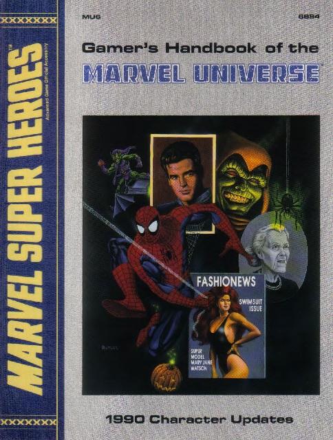 Gamer's Handbook of the Marvel Universe Vol 1 6